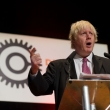 London mayor Boris Johnson speaks at Develop Croydon conference