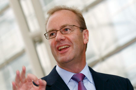 Peter Andrews chief executive of London Thames Gateway Development Corporation