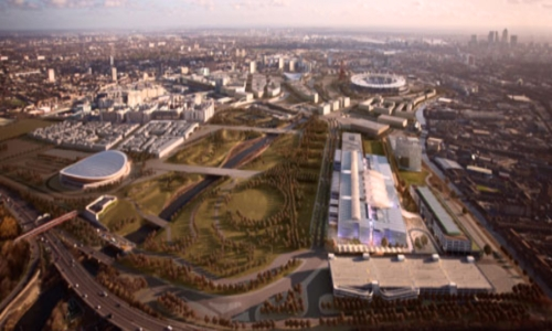 Wellcome Trust plans for the Olympic Park