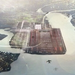 Artist impression of plans for Thames Estuary airport