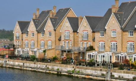 Housing at St Mary's Island, Chatham